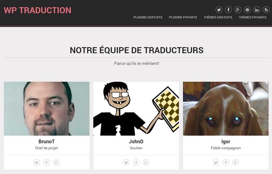 Traduction en français de thèmes et de plugins WordPress