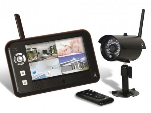 kit camera videosurveillance sans fil pour maison
